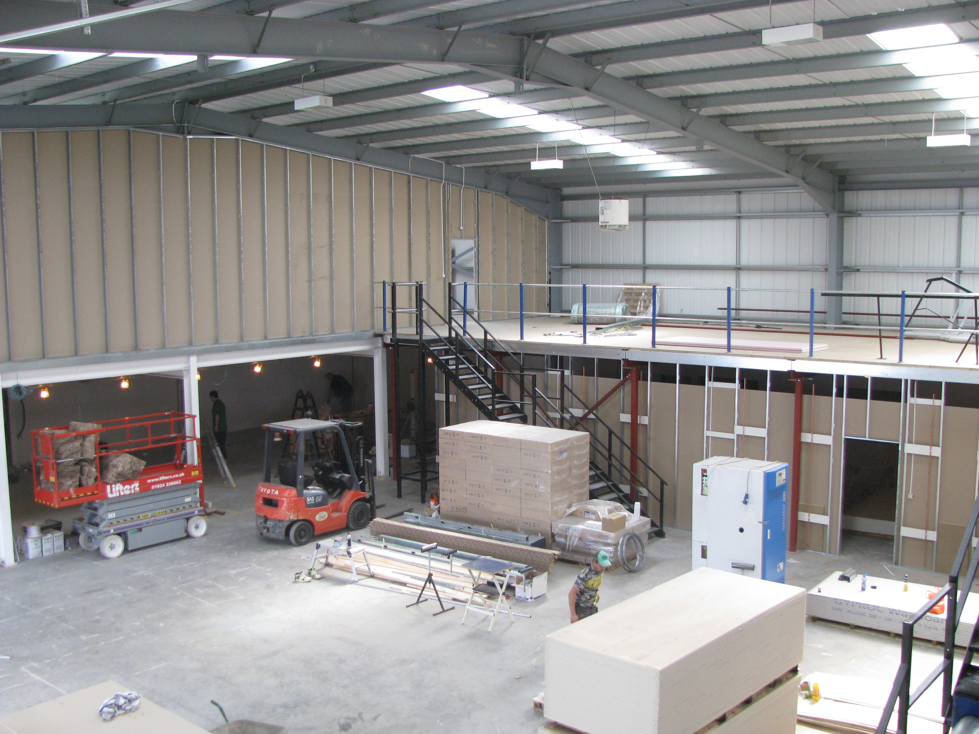 Office Mezzanine Floors - Warehouse Storage Solutions Limited