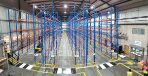 Turnkey Pallet Racking View - Warehouse Storage Solutions