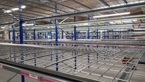 Turnkey Mezzanine View - Warehouse Storage Solutions