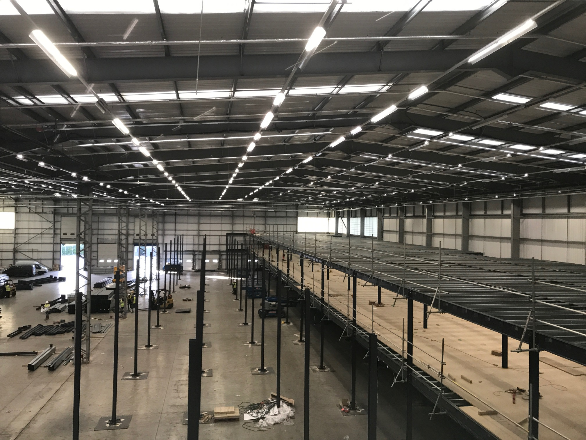What Can Your Business Gain From Installing a Mezzanine Floor?