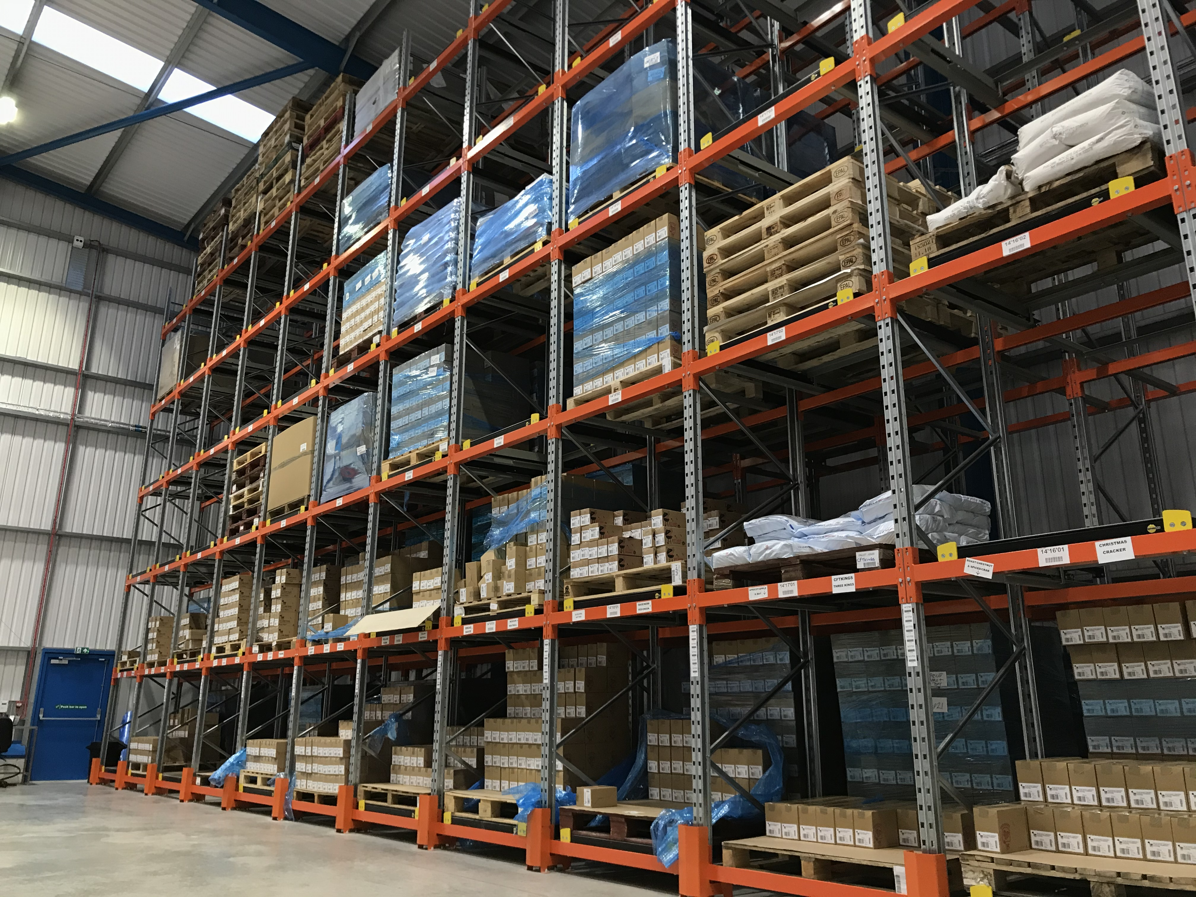 Push Back Pallet Racking – What Is It?